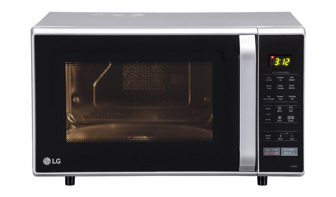 LG 28 L Convection Microwave Oven (MC2846SL