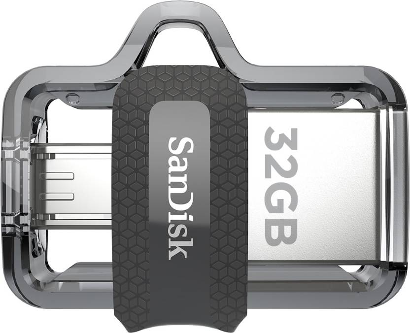 SanDisk Ultra Dual Drive M3.0 32 GB OTG Drive (Type A to Micro USB)